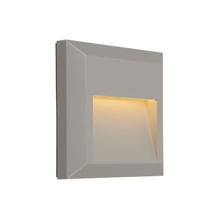 Moderne-Wandleuchte-hellgrau-inkl.-LED---Gem-2