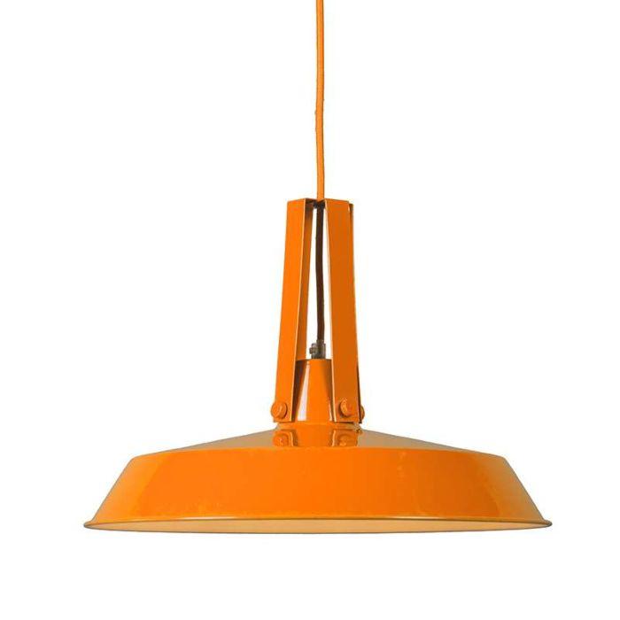 Lebende-Lampe-40cm-orange