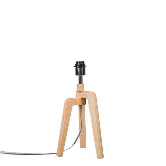 Puros-Wood-Tischleuchte-ohne-Schirm