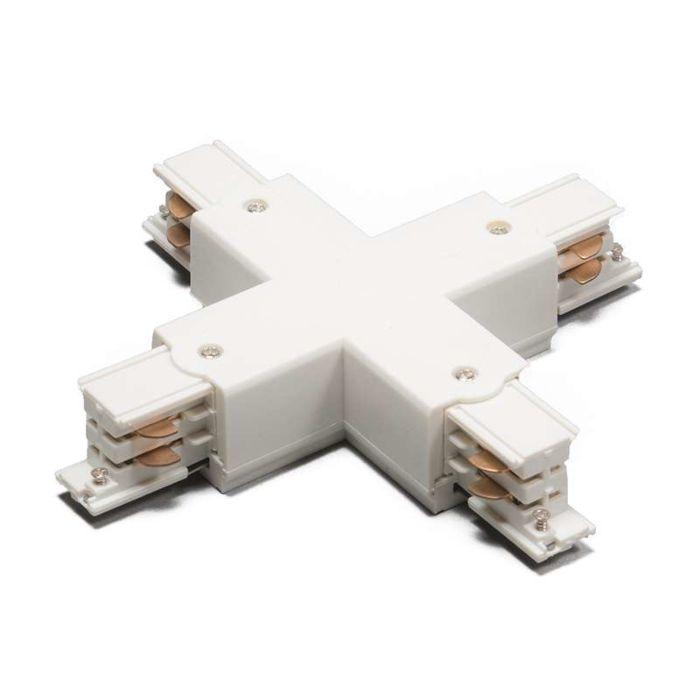 X-Verbindungsstück-für-3-Phasen-Schienensystem-weiß