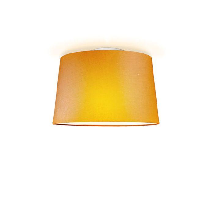 Deckenleuchte-Ton-um-40-orange