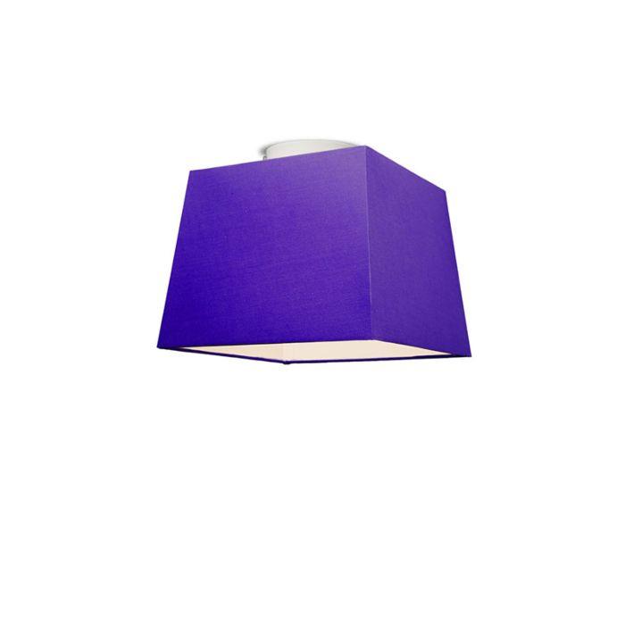 Deckenleuchte-Ton-quadratisch-30-violett