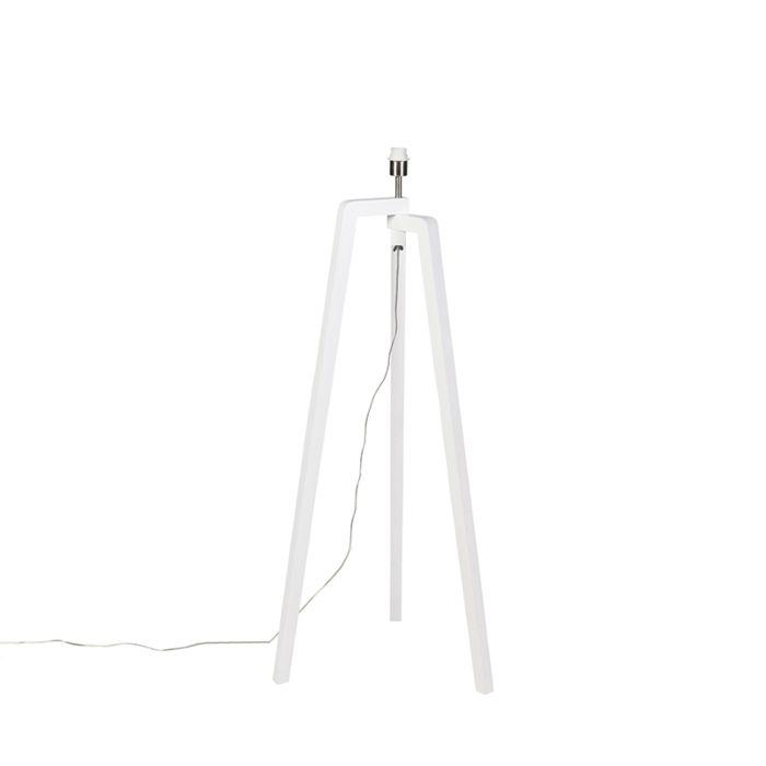 Moderne-Stehleuchte-weiß-ohne-Schirm---Puros