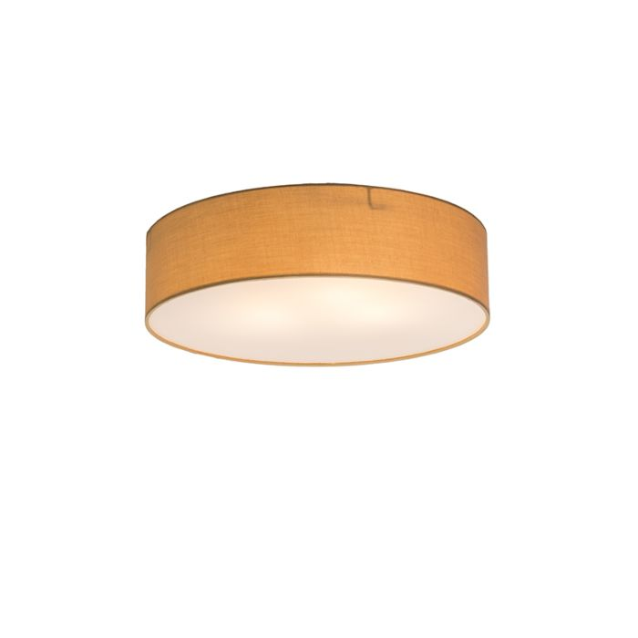 Deckenleuchte-Drum-Basic-40-beige