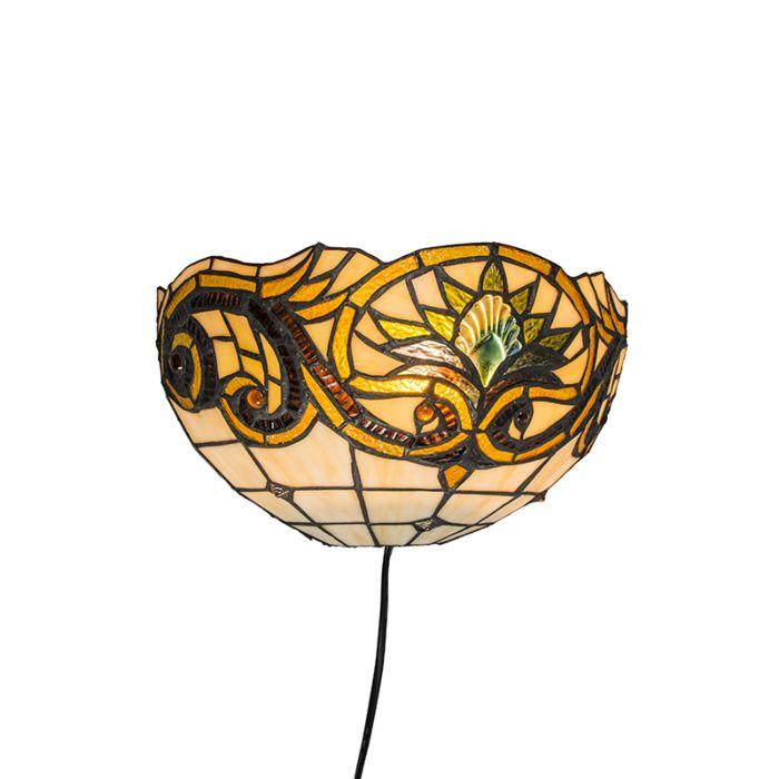 Tiffany-Sunflower-Wandleuchte