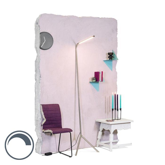 Stehleuchte-Lazy-Lamp-Stahl