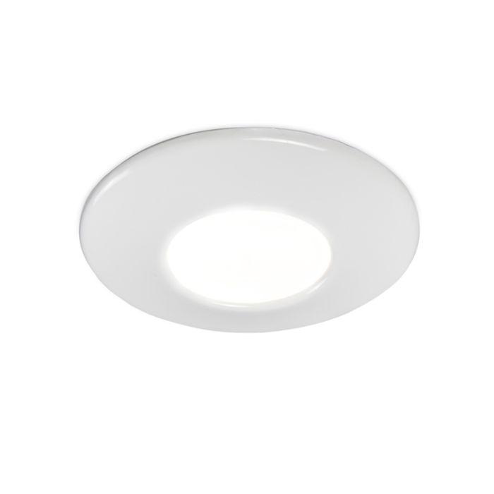 Moderner-Einbauspot-weiß-IP44---Gap
