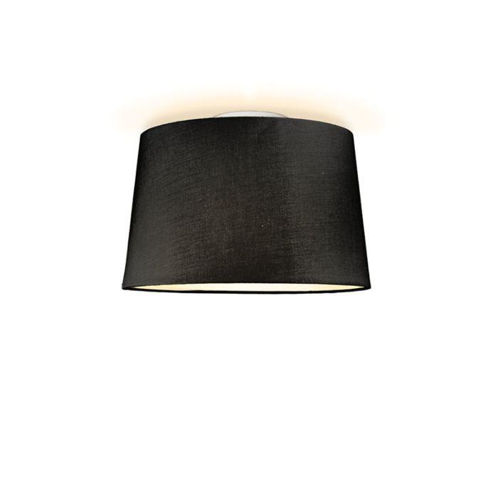Deckenleuchte-Ton-um-40-schwarz