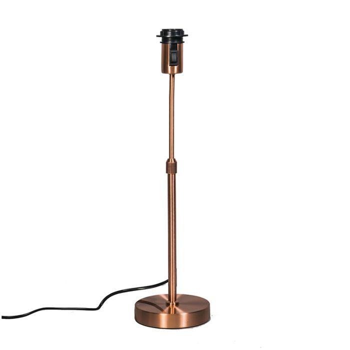 Tischlampe-aus-Kupfer-verstellbar---Parte