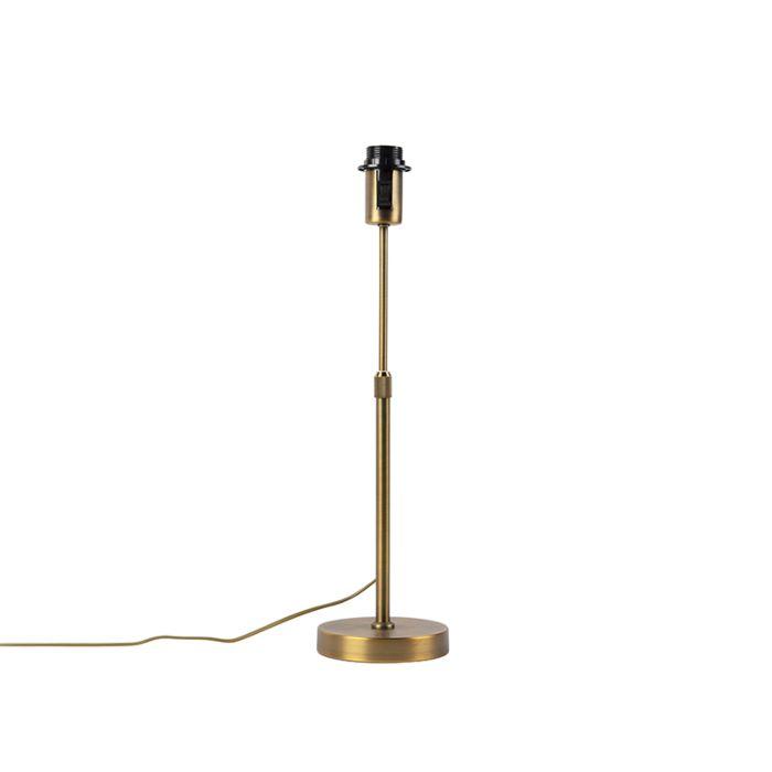 Bronze-Tischlampe-verstellbar---Parte