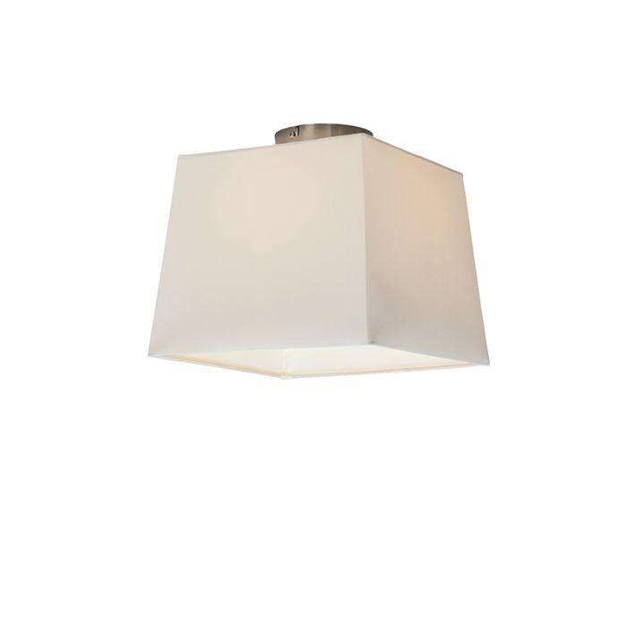 Deckenleuchte-Combi-30-cm-quadratisch-weiß