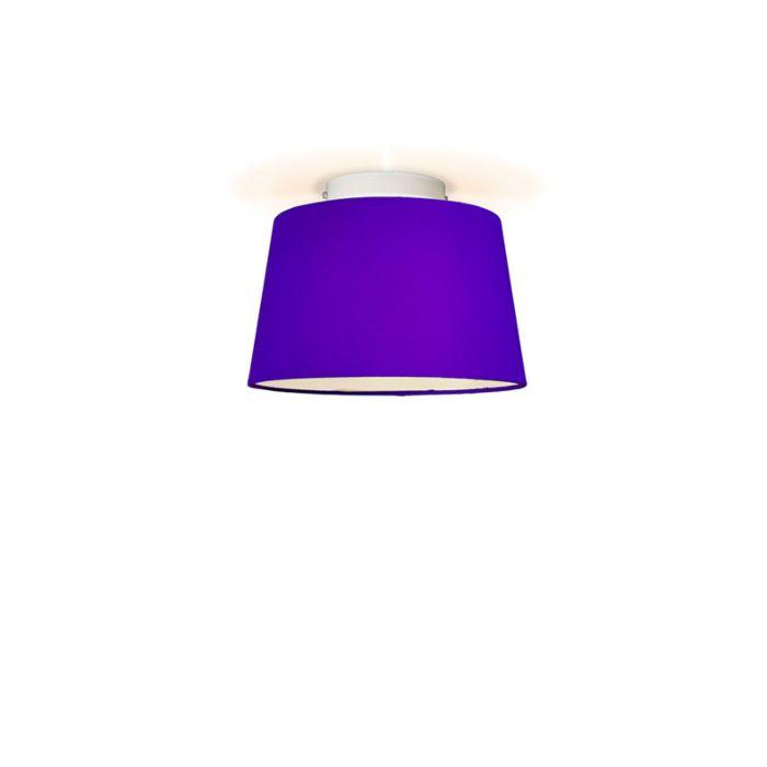 Deckenleuchte-Ton-um-30-lila