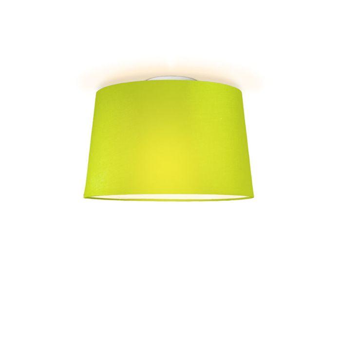 Deckenleuchte-Tonne-um-40-grün