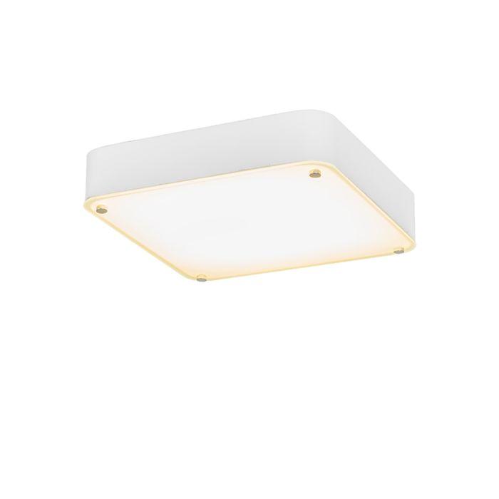 Deckenleuchte-Dream-35-quadratisch-weiß