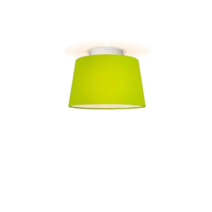Deckenleuchte-Tonne-um-30-grün