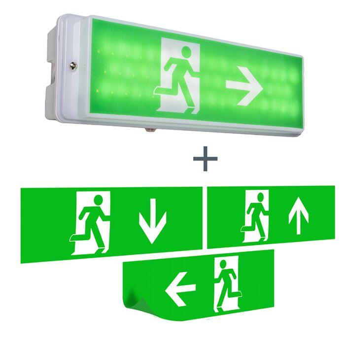 Fluchtweg-Wandleuchte-inkl.-LED-IP65---Emergency-2