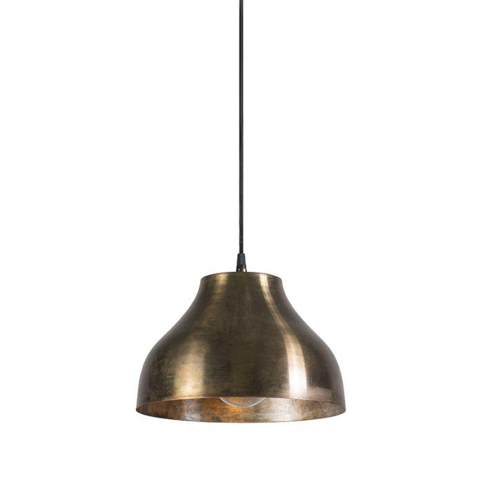 Loft-goldene-Loftlampe