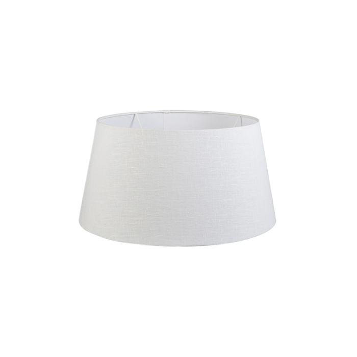 Leinen-Lampenschirm-weiß-50/40/26