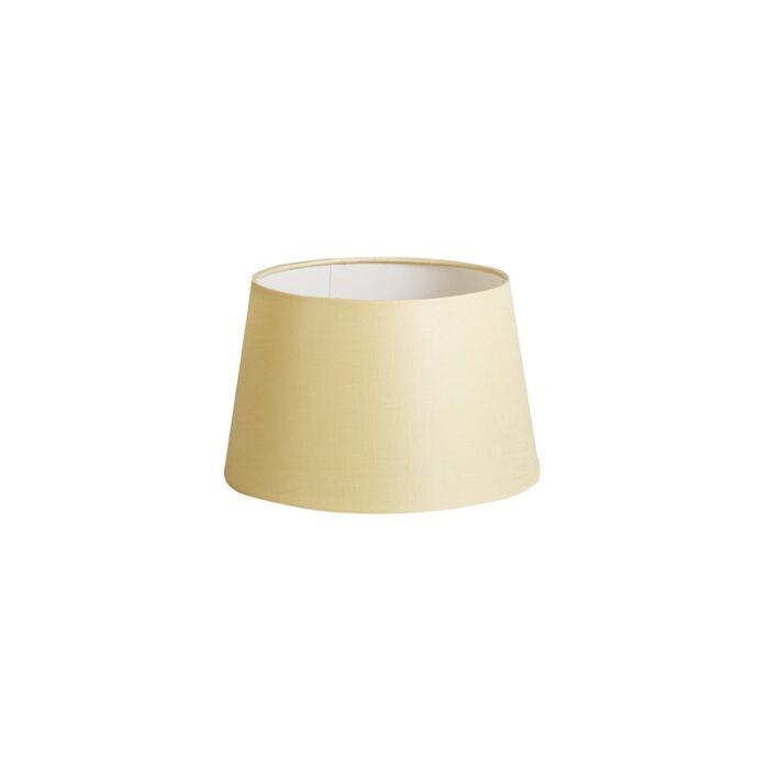 Lampenschirm-25cm-rund-DS-E27-leinen-creme