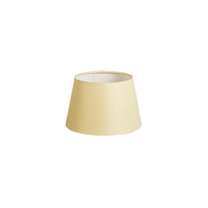 Lampenschirm-20cm-rund-DS-E27-leinen-creme