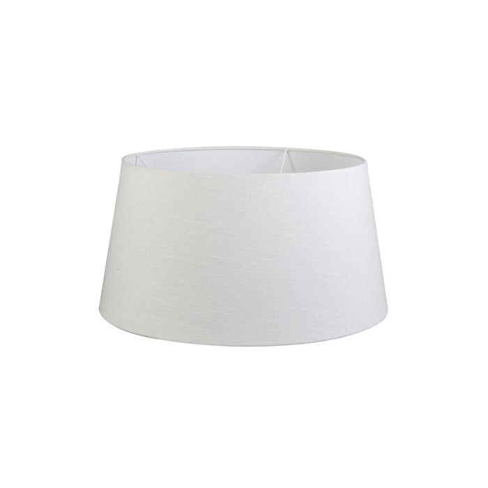 Lampenschirm-55/45/28-SD-leinen-grau-weiß