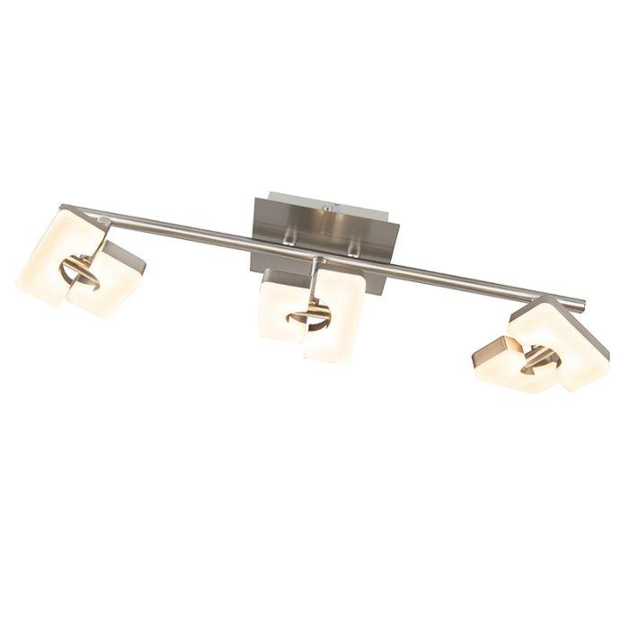 Moderner-Deckenstrahler-Stahl-verstellbar-inkl.-LED---Twin-3