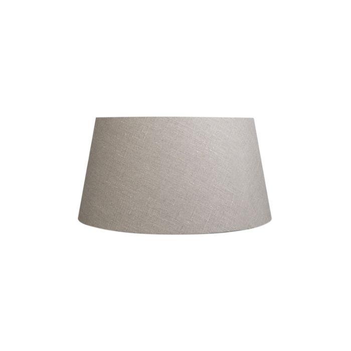 Leinen-Lampenschirm-grau-50/40/26