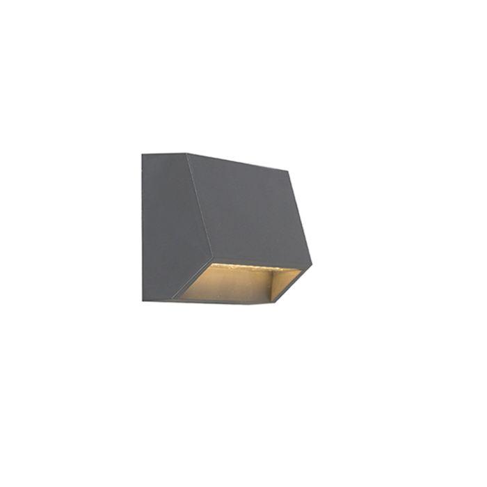 Moderne-Außenwandleuchte-dunkelgrau-inkl.-LED-IP54---Sandstone-1