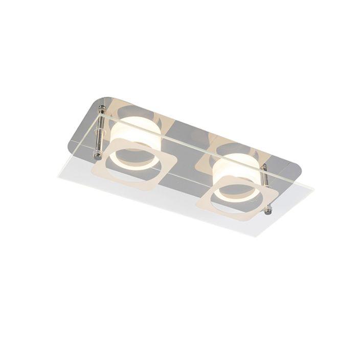 Deckenleuchte-Vidrio-2-Stahl