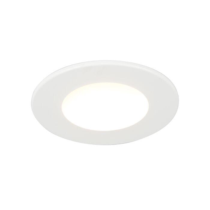 Einbauspot-weiß-inkl.-LED-280-Lumen-3000K-4W-IP65---Blanca