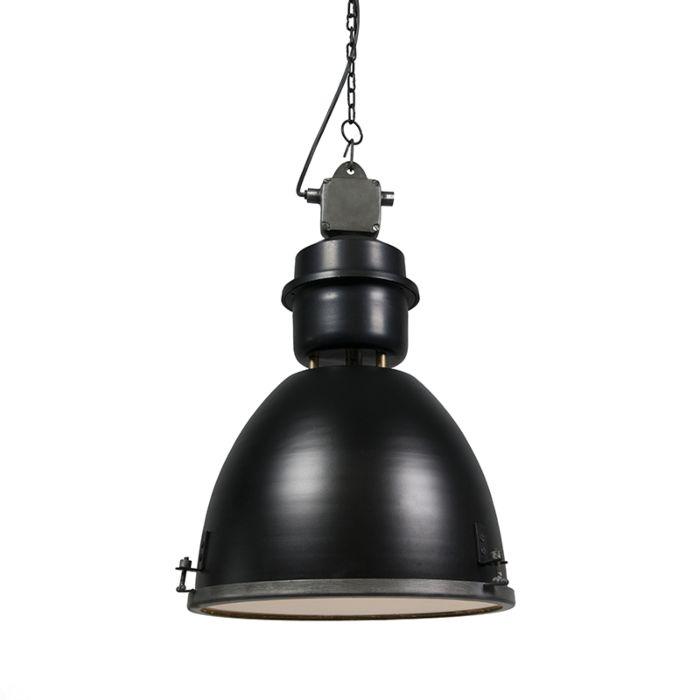 Autobahnlampe-schwarz