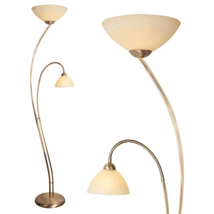 Stehleuchte-Corsaire-2-bronze-mit-creme