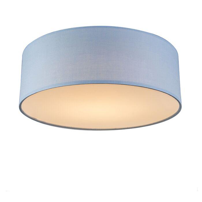 Deckenleuchte-blau-30-cm-inkl.-LED---Drum-LED