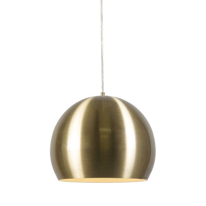 Pendelleuchte-Orb-gold-33cm