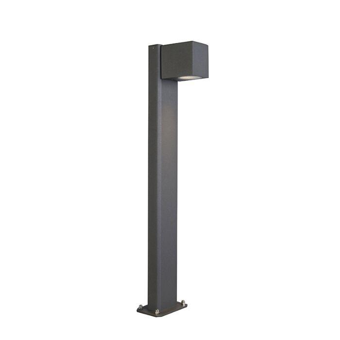 Industrielle-Außenstehleuchte-anthrazit-65-cm-IP44---Baleno