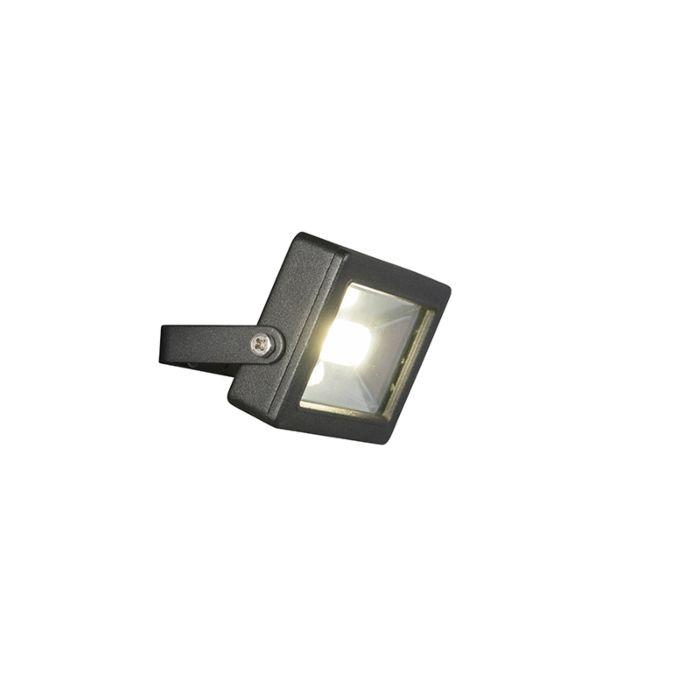 Moderner-Heizkörper-schwarz-inkl.-LED-10W---Telix