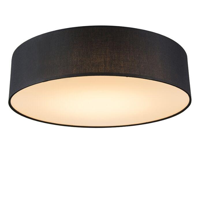 Deckenleuchte-schwarz-40-cm-inkl.-LED---Drum-