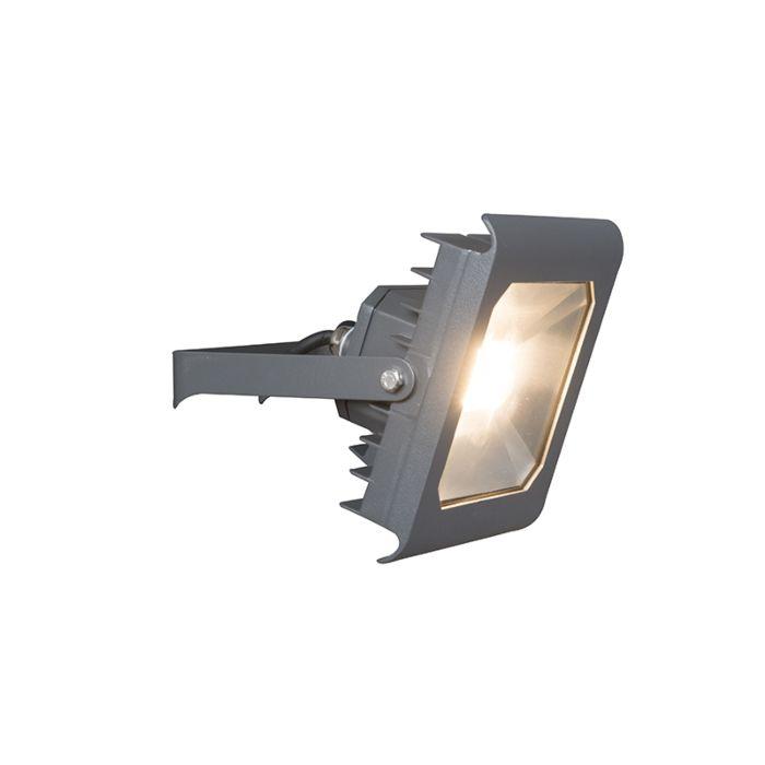 LED-Strahler-Radius-2-30W-dunkelgrau