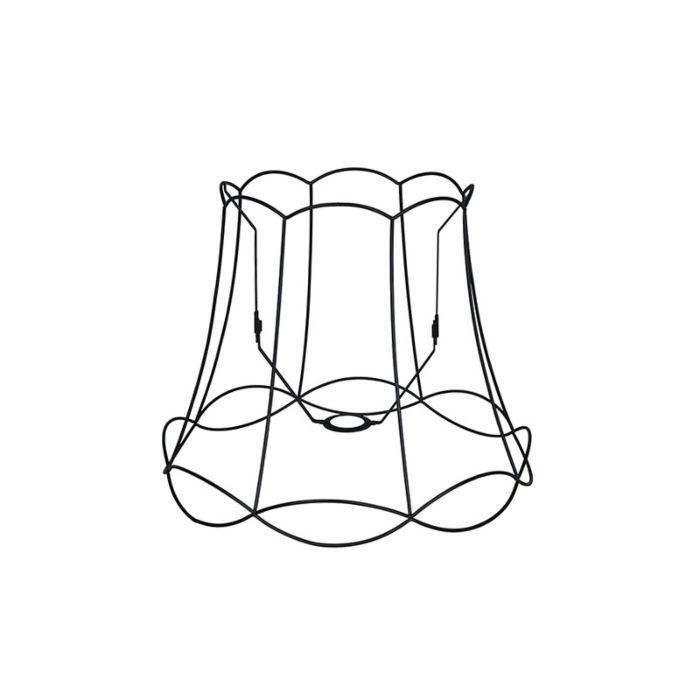 Metall-Lampenschirm-schwarz-45/36---Granny-Frame