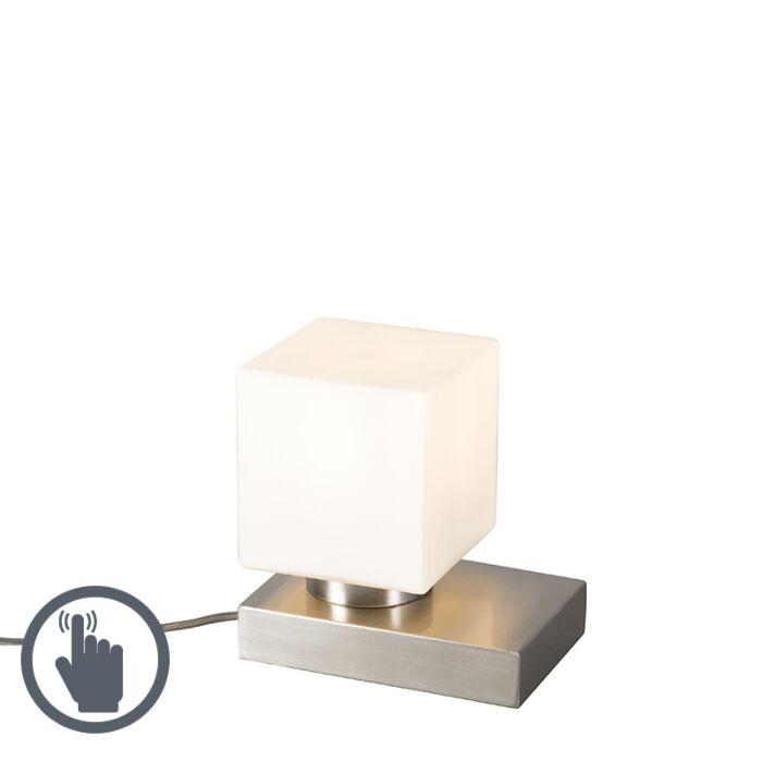 Tischleuchte-Stol-Stahl-Quadrat-mit-Touch