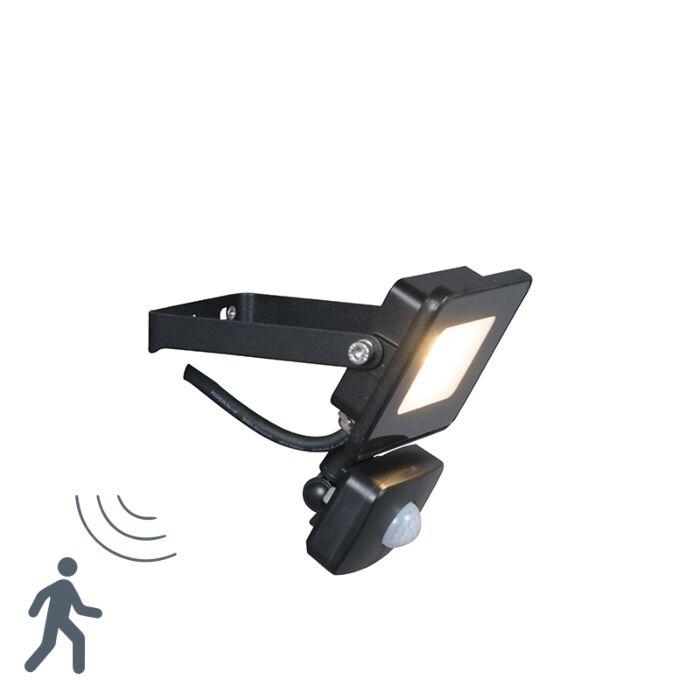 LED-Strahler-schwarz-inkl.-LED-mit-Bewegungsmelder---Radius-1