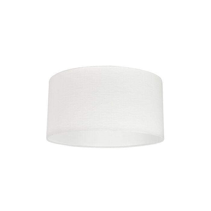 Stoff-Lampenschirm-weiß-50/50/25