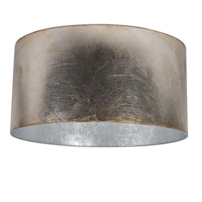 Kappe-50/50/25-Zylinder-silberbraun