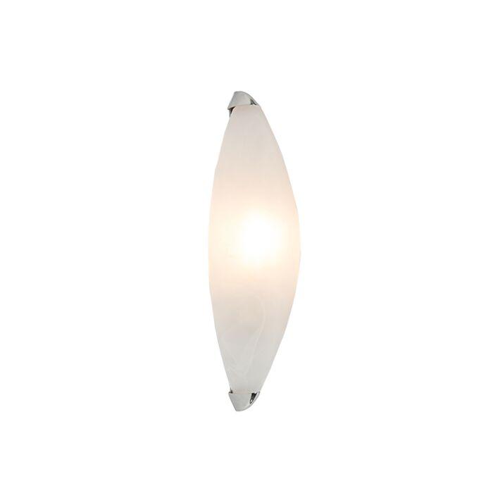 Wandleuchte-Rigo-Marmorglas-mit-Chrom