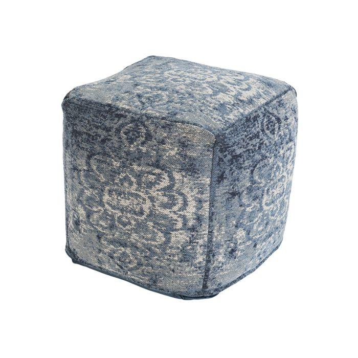 Vintage-quadratischer-Hocker-blau-45-x-45-x-45-cm---Kanpur
