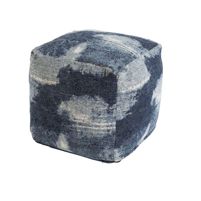 Vintage-quadratischer-Hocker-blau-45-x-45-x-45-cm---Puri