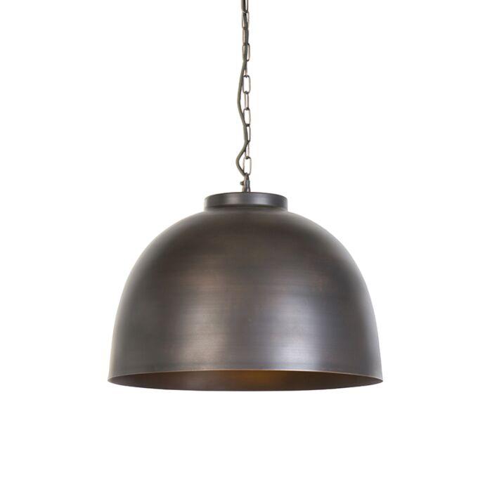 Industrielle-Hängelampe-braun-45,5-cm---Hoodi