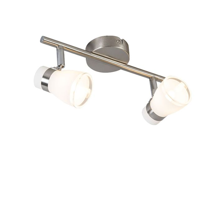 Decken--und-Wandspot-Stahl-schwenk--und-neigbar-2-flammig---Nadia