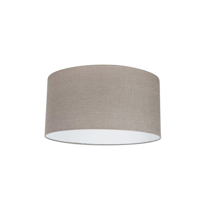 Baumwolllampenschirm-altgrau-50/50/25