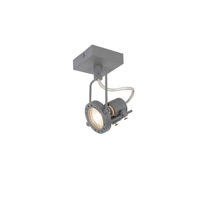 Anthrazit-Industrie-Scheinwerfer-drehbar-und-kippbar---Suplux